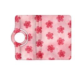 Watercolor Flower Patterns Kindle Fire HD (2013) Flip 360 Case