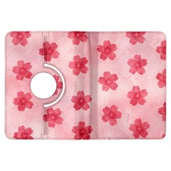 Watercolor Flower Patterns Kindle Fire HDX Flip 360 Case