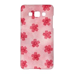 Watercolor Flower Patterns Samsung Galaxy A5 Hardshell Case
