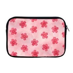 Watercolor Flower Patterns Apple Macbook Pro 17  Zipper Case