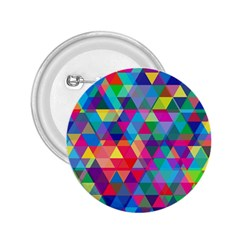 Colorful Abstract Triangle Shapes Background 2.25  Buttons
