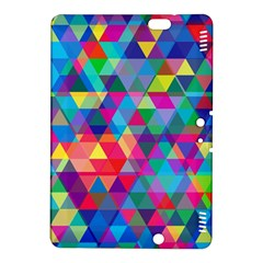 Colorful Abstract Triangle Shapes Background Kindle Fire HDX 8.9  Hardshell Case