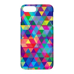 Colorful Abstract Triangle Shapes Background Apple Iphone 7 Plus Hardshell Case
