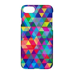 Colorful Abstract Triangle Shapes Background Apple Iphone 7 Hardshell Case