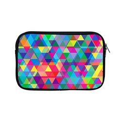 Colorful Abstract Triangle Shapes Background Apple Macbook Pro 13  Zipper Case