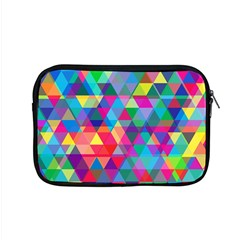 Colorful Abstract Triangle Shapes Background Apple Macbook Pro 15  Zipper Case
