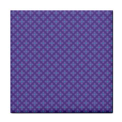 Abstract Purple Pattern Background Tile Coasters