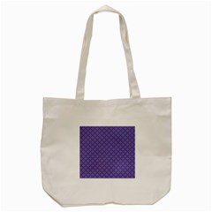 Abstract Purple Pattern Background Tote Bag (Cream)
