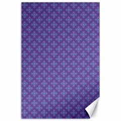 Abstract Purple Pattern Background Canvas 24  x 36