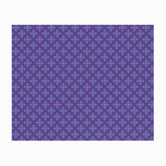 Abstract Purple Pattern Background Small Glasses Cloth (2-Side)