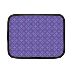 Abstract Purple Pattern Background Netbook Case (Small)
