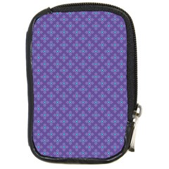Abstract Purple Pattern Background Compact Camera Cases