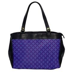 Abstract Purple Pattern Background Office Handbags