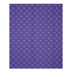 Abstract Purple Pattern Background Shower Curtain 60  x 72  (Medium)