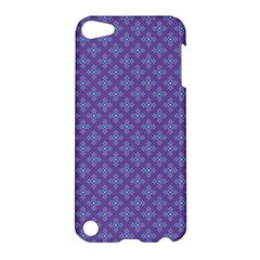 Abstract Purple Pattern Background Apple iPod Touch 5 Hardshell Case