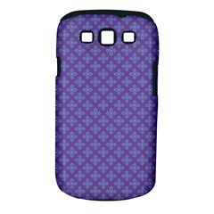 Abstract Purple Pattern Background Samsung Galaxy S III Classic Hardshell Case (PC+Silicone)
