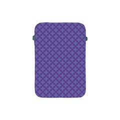 Abstract Purple Pattern Background Apple iPad Mini Protective Soft Cases