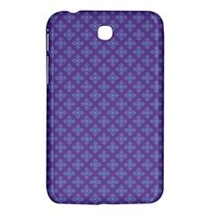 Abstract Purple Pattern Background Samsung Galaxy Tab 3 (7 ) P3200 Hardshell Case