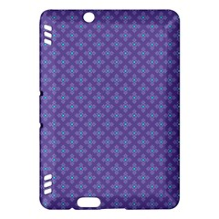 Abstract Purple Pattern Background Kindle Fire HDX Hardshell Case