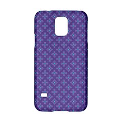 Abstract Purple Pattern Background Samsung Galaxy S5 Hardshell Case