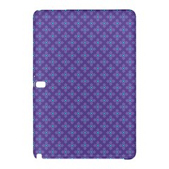 Abstract Purple Pattern Background Samsung Galaxy Tab Pro 12.2 Hardshell Case
