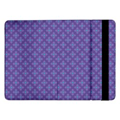 Abstract Purple Pattern Background Samsung Galaxy Tab Pro 12.2  Flip Case