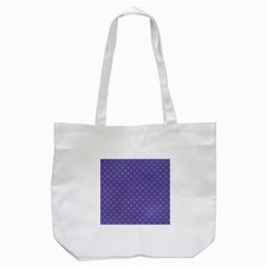 Abstract Purple Pattern Background Tote Bag (White)