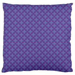 Abstract Purple Pattern Background Standard Flano Cushion Case (One Side)