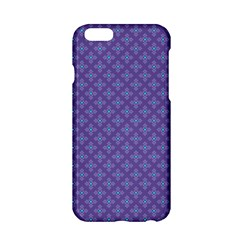 Abstract Purple Pattern Background Apple iPhone 6/6S Hardshell Case