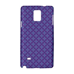 Abstract Purple Pattern Background Samsung Galaxy Note 4 Hardshell Case