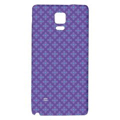 Abstract Purple Pattern Background Galaxy Note 4 Back Case