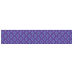 Abstract Purple Pattern Background Flano Scarf (Small)