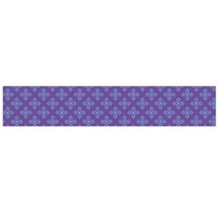 Abstract Purple Pattern Background Flano Scarf (Large)