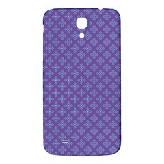 Abstract Purple Pattern Background Samsung Galaxy Mega I9200 Hardshell Back Case