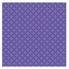 Abstract Purple Pattern Background Large Satin Scarf (Square)