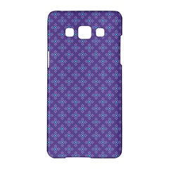 Abstract Purple Pattern Background Samsung Galaxy A5 Hardshell Case