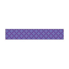 Abstract Purple Pattern Background Flano Scarf (Mini)