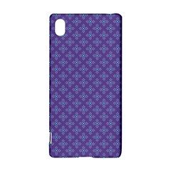 Abstract Purple Pattern Background Sony Xperia Z3+