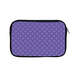 Abstract Purple Pattern Background Apple Macbook Pro 13  Zipper Case