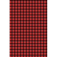 Red Plaid 5.5  x 8.5  Notebooks