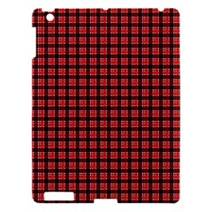 Red Plaid Apple iPad 3/4 Hardshell Case