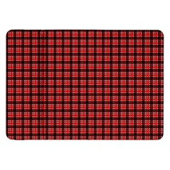 Red Plaid Samsung Galaxy Tab 8.9  P7300 Flip Case