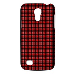 Red Plaid Galaxy S4 Mini
