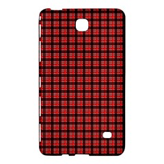 Red Plaid Samsung Galaxy Tab 4 (8 ) Hardshell Case