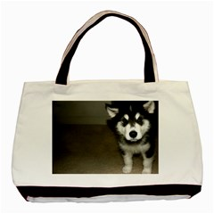 Alaskan Malamute Pup 3 Basic Tote Bag (Two Sides)