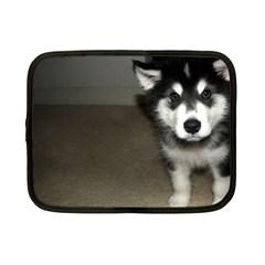 Alaskan Malamute Pup 3 Netbook Case (Small)