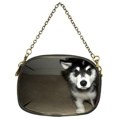 Alaskan Malamute Pup 3 Chain Purses (One Side)