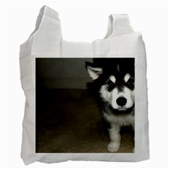 Alaskan Malamute Pup 3 Recycle Bag (Two Side)