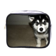 Alaskan Malamute Pup 3 Mini Toiletries Bags