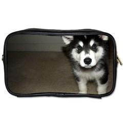 Alaskan Malamute Pup 3 Toiletries Bags
